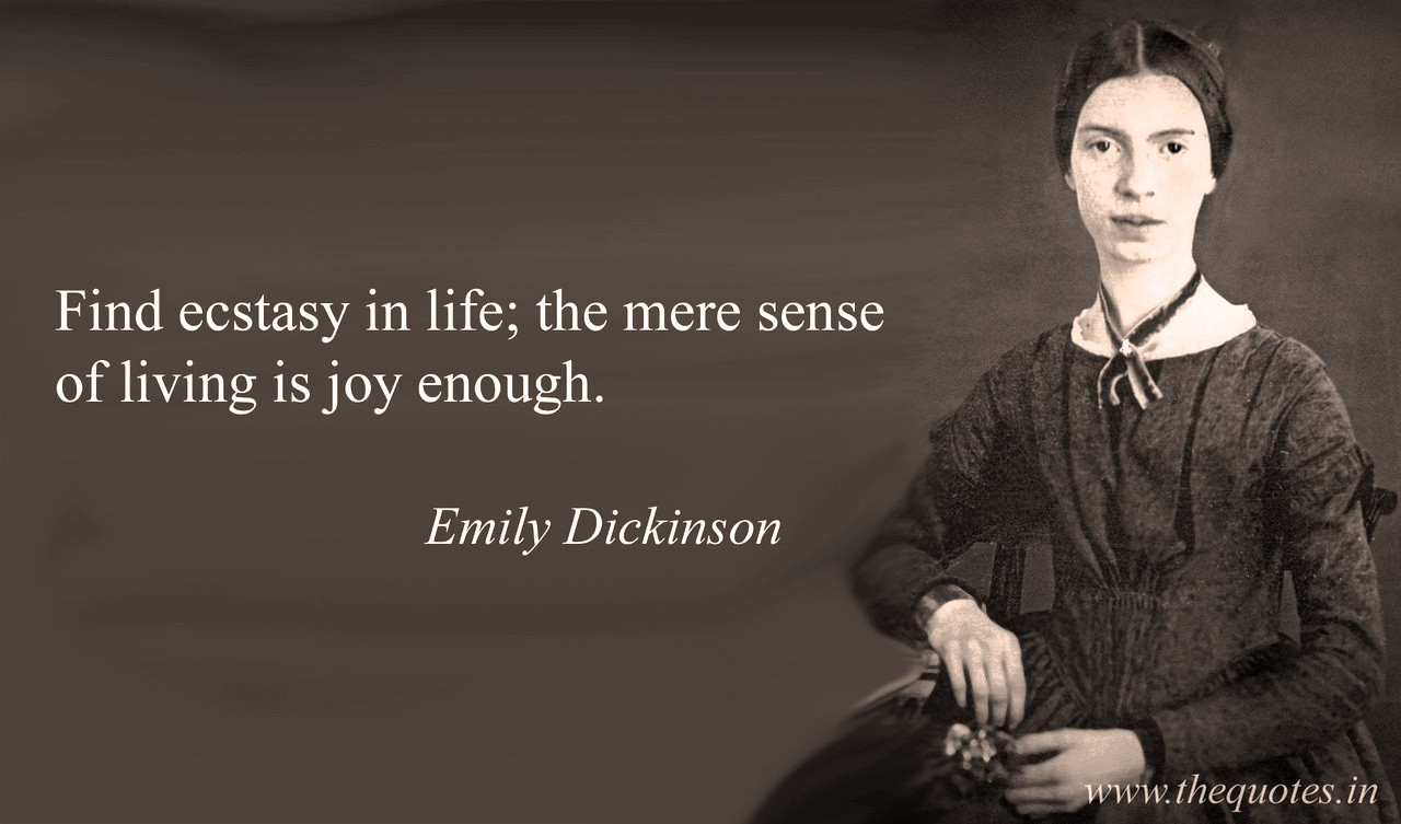 """emily dickinson there is a """"rarely photographed'' does not accurately describeemily dickinson there is exactly one authenticated photo of the famously reclusive poet — a daguerreotype showing her as a teenager in 1847."""