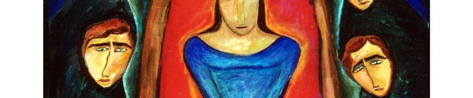 Painting by Mahvash Mossaed
